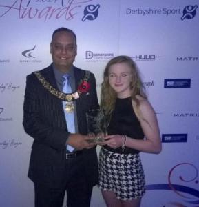 Abbie Derbyshire Sports Awards 2014