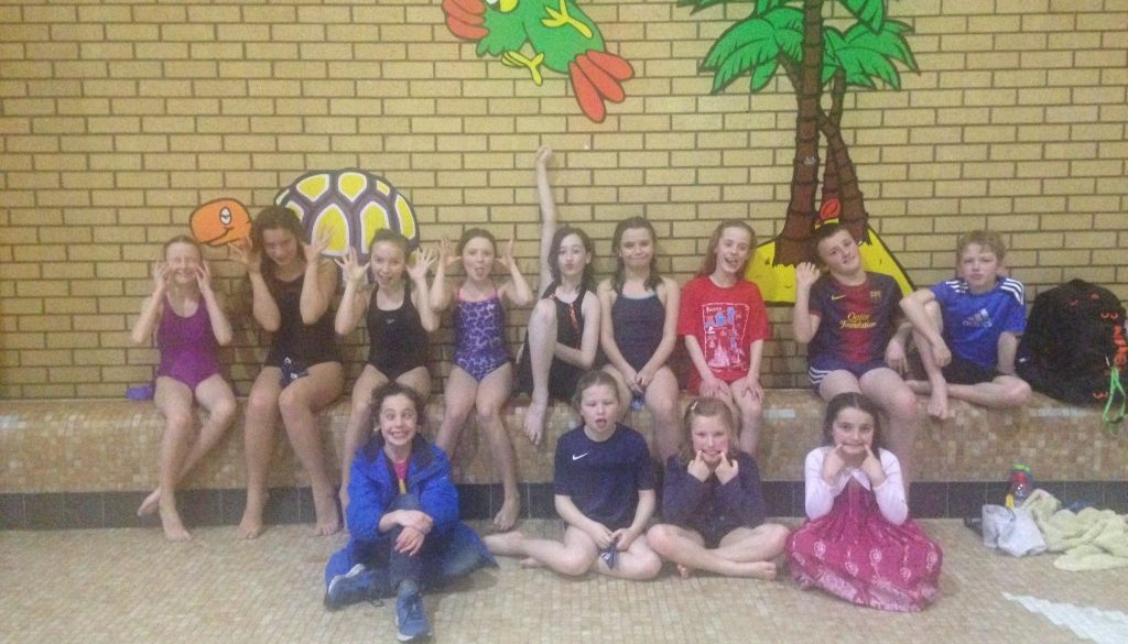 Young Swimmers Make a Splash In Mac!